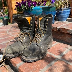 Steel toe boots with thinsulate
